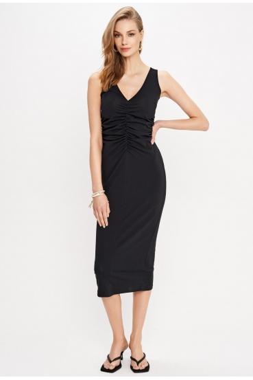 Sukienka midi BEXLEY DRESS