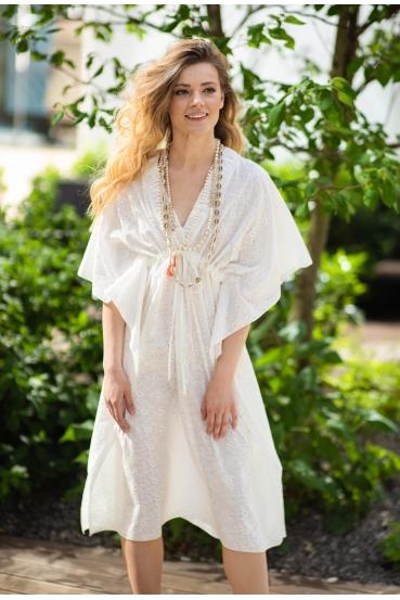 Sukienka maxi COLLEEN DRESS LTD biała