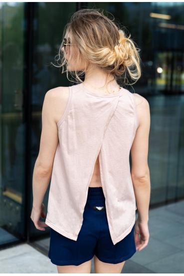 Koszulka na ramiączkach TAMI TOP różowy_1