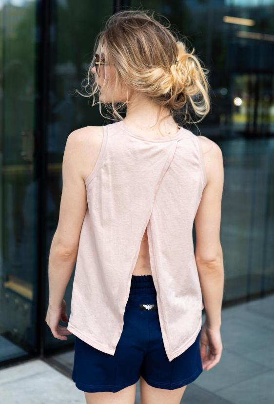Koszulka na ramiączkach TAMI TOP różowy