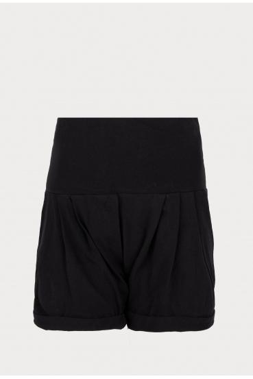 Spodnie krótkie NORA SHORTS 2 czarne_3
