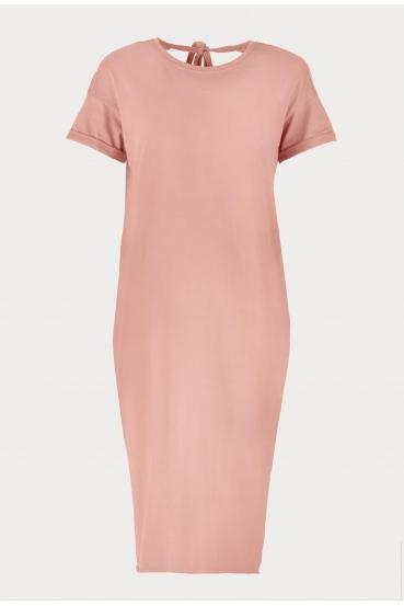 Sukienka midi VEGA DRESS 2 różowa_3