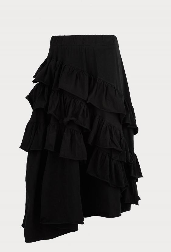 Spódnica maxi JADEN SKIRT czarna