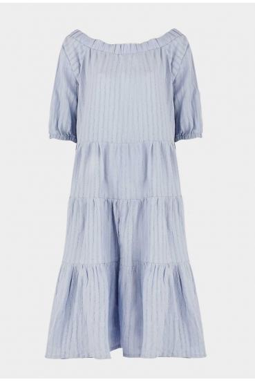 Sukienka midi LYDIA DRESS LTD błękitna_3