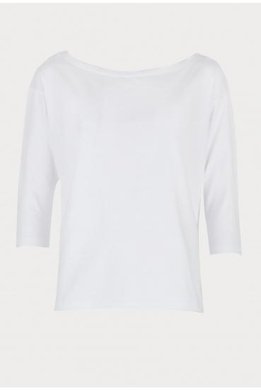 Koszulka prosta WEST T-SHIRT biała_3