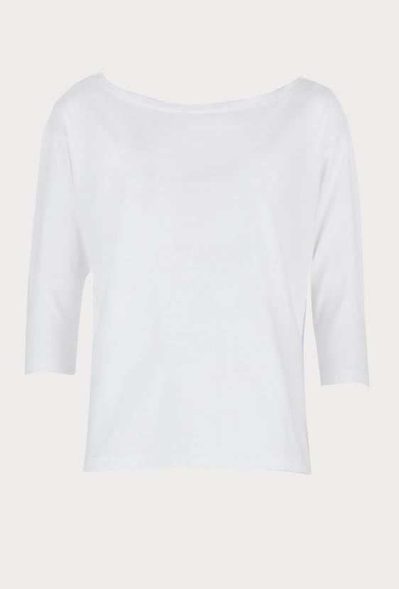 Koszulka prosta WEST T-SHIRT biała