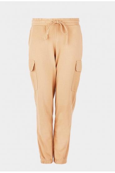 Spodnie bojówki ZAIDA PANTS beżowa_2