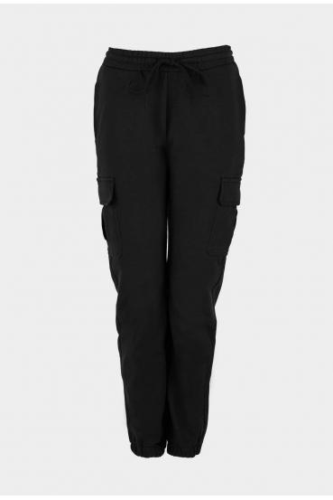 Spodnie bojówki ZAIDA PANTS czarne_2