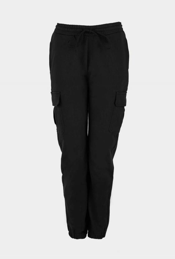 Spodnie bojówki ZAIDA PANTS czarne