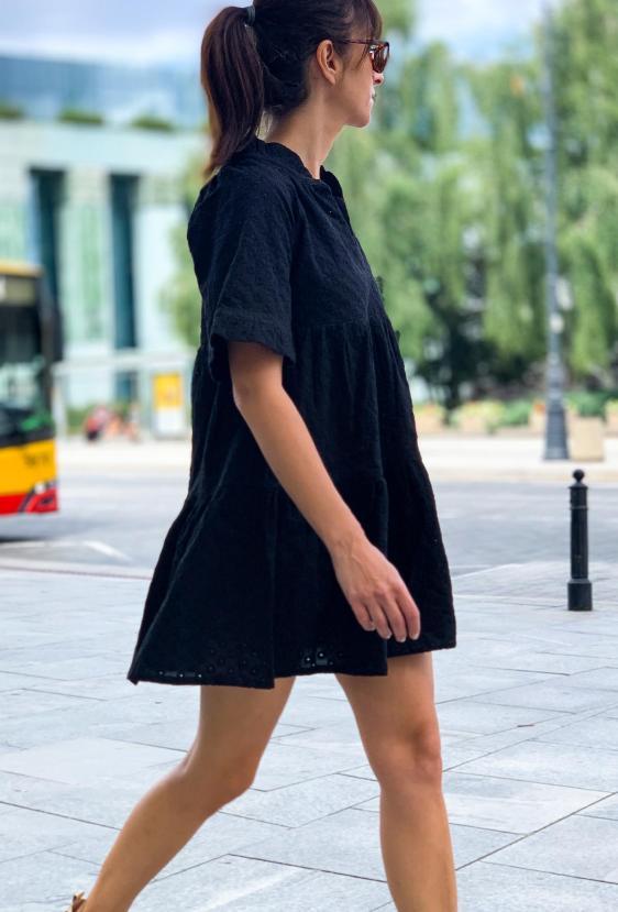 Sukienka mini GISEL DRESS LTD czarny_1