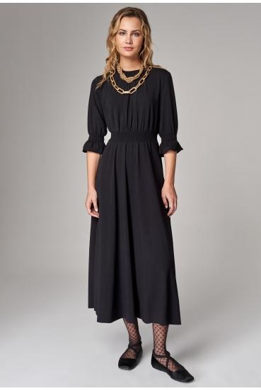 Sukienka maxi ARUBA DRESS czarny