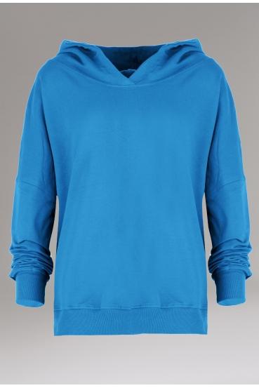 Bluza z kapturem EDEN JUMPER turkusowy_4