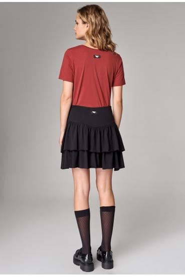 Spódnica mini NILA SKIRT czarna_1