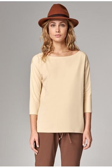 Koszulka prosta WEST T-SHIRT żółty