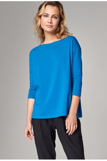 Koszulka prosta WEST T-SHIRT turkusowy