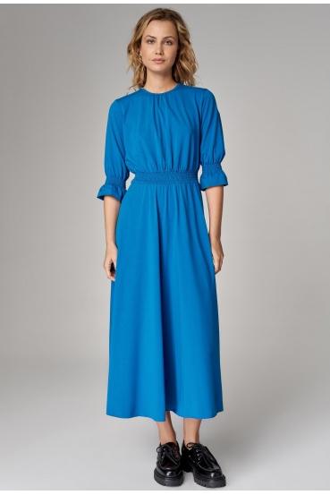 Sukienka maxi ARUBA DRESS turkusowa