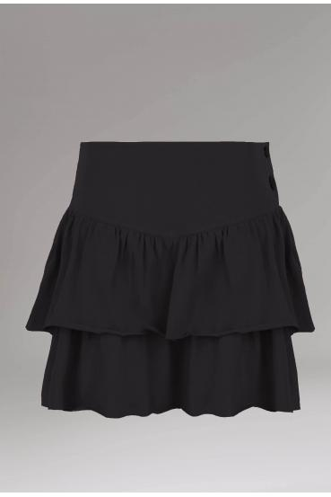 Spódnica mini NILA SKIRT czarna_2