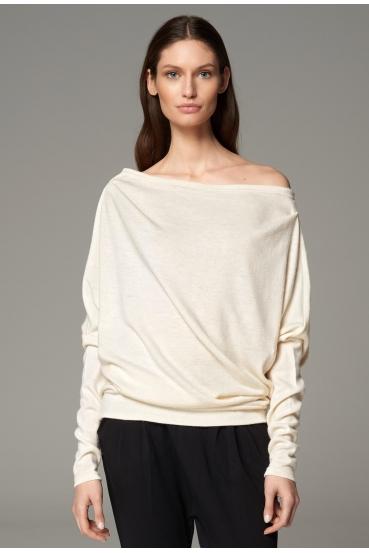 Sweter KLARA SWEATER kremowy